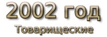 2002 god Товарищеские матчи