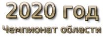 2020 год. Чемпионат области