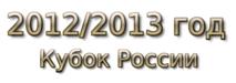 2012-2013 год Кубок России