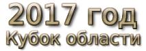 2017 год. Кубок области