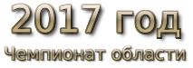 2017 год. Чемпионат области