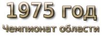 1975 год. Чемпионат области
