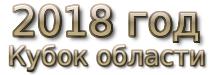 2018 год. Кубок области